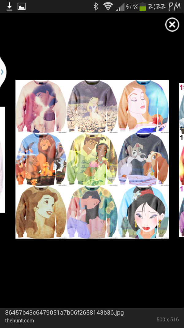 sweater disney sweater