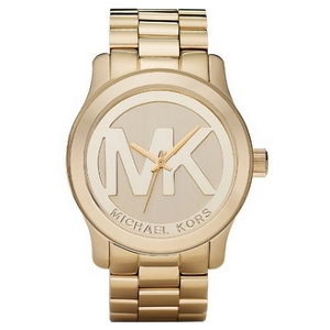 Michael Kors Gold Tone Stainless Steel Bracelet Watch - Sale
