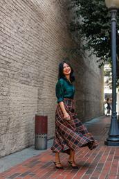 mamainheels,blogger,blouse,skirt,bag