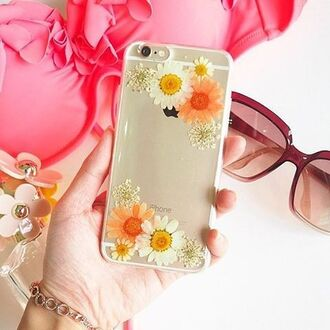 phone cover daisy flowers floral daisy lover cute girl iphone case iphone cover iphone6s iphone 5s iphone 6s plus galaxy cases orange white trendy fahsion shabibisheep gift ideas valentines day gift idea mothers day gift idea holiday gift iphone samsung galaxy cases samsung galaxy s4 samsung galaxy s6 case kawaii