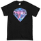 Diamond galaxy t-shirt - basic tees shop