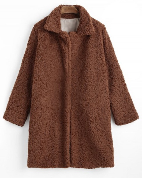 coat girly brown fur fur coat long long coat comfy fall outfits faux fur