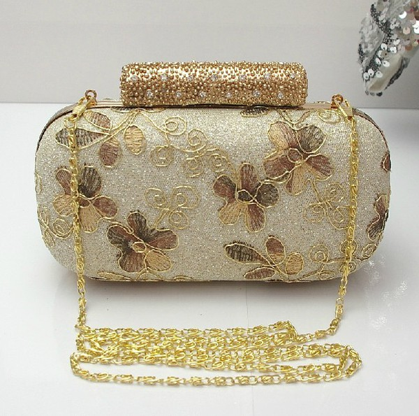 bag handbag handbag evening bag gold handband gold lace floral handbag bridal clutch wedding accessories prom bag wedding clutch party clutch purse purple swimwear crystal purse hobo clutch shiny bag shoulder bag branded bag chanle style bag handbag crystal bag