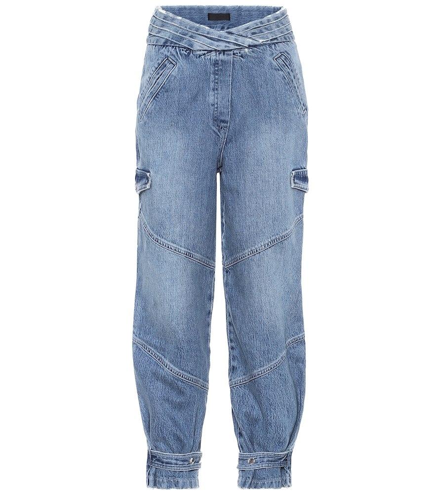 Dallas high-rise cargo jeans