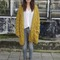 "H&m trend cardigans, isabel marant boots, lois jeans, mango blouse | ""mustard"" by bohemiann - chictopia"