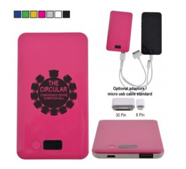 home accessory custom printed promotional it products Australia's best promotional IT products personalised power banks Custom Active Power Bank my promotions australia