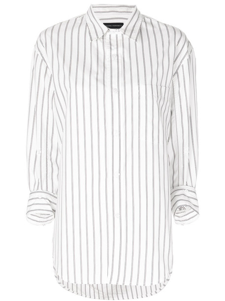 Citizens Of Humanity - Kayla collared shirt - women - Cotton/Polyester - L, White, Cotton/Polyester