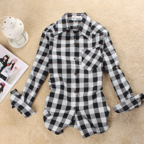 One pocket plaid shirt from doublelw on storenvy