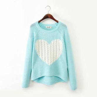 sweater blue sweater