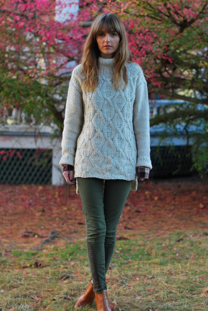 jess style rules pants sweater shoes