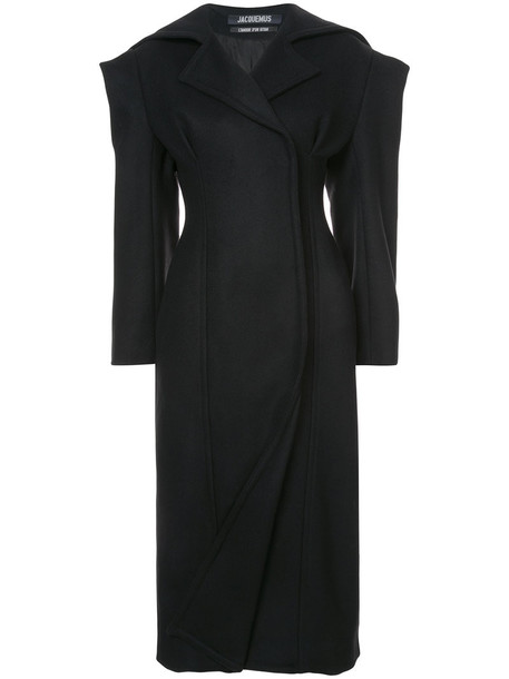 Jacquemus coat women black wool
