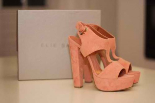 shoes elie saab pink heels grunge cute girly feminine girly grunge