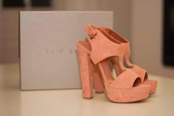 shoes elie saab pink heels grunge cute girly feminine girly grunge