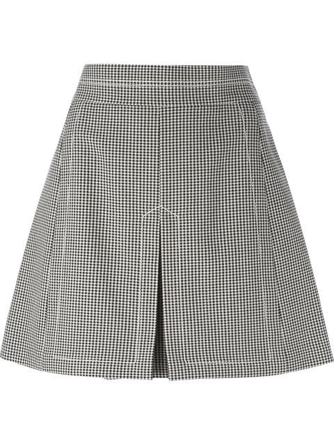 See By Chloé Houndstooth Print Skirt - Vitkac - Farfetch.com