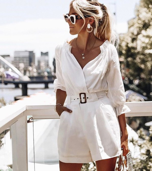 shorts white shorts bodysuit white bodysuit underwear