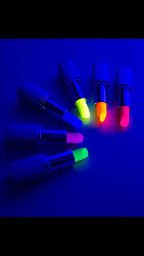 belt lipstick glow in the dark lipstick pink lipstick blue lipstick cute orange lipstick yellow lipstick sexy