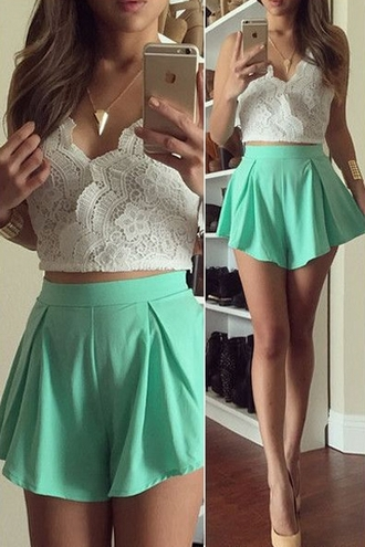shorts top dress