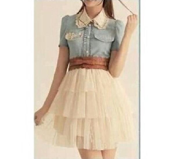 dress denim jacket cute dress