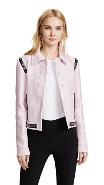 GIAMBATTISTA VALLI coat pink
