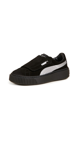 sneakers satin black shoes
