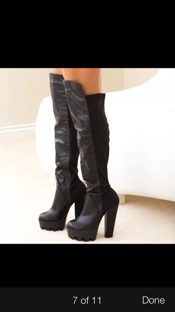 shoes chunky boots platform shoes boots