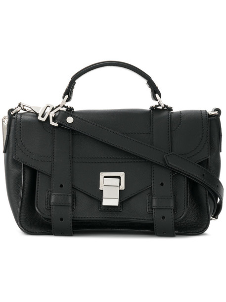 cross women bag leather black