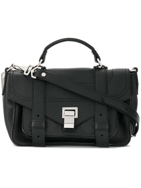 Proenza Schouler cross women bag leather black