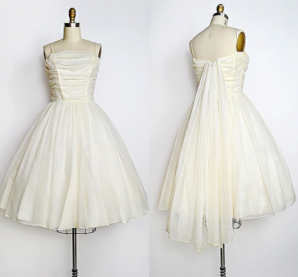 Dress 1950s Wedding Dress 1950s Prom Dress Retro Wedding Dress Retro Prom Dress Retro
