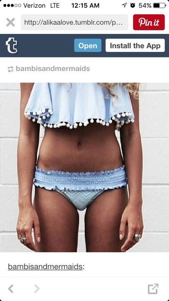 swimwear blue style fashion vibe fashion toast fashion is a playground style scrapbook bikini