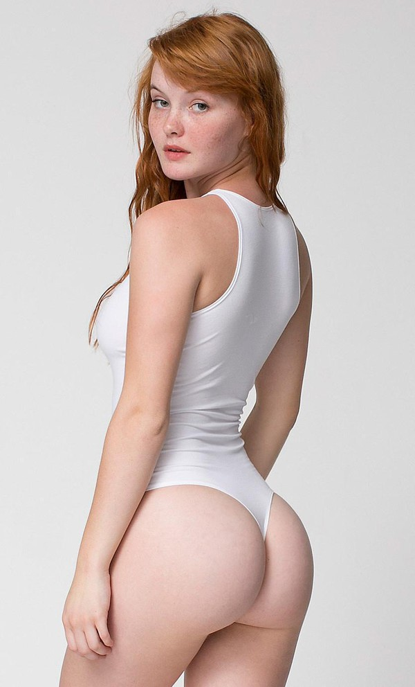 Womans Naked Leotard Thong Bare Ass Teen