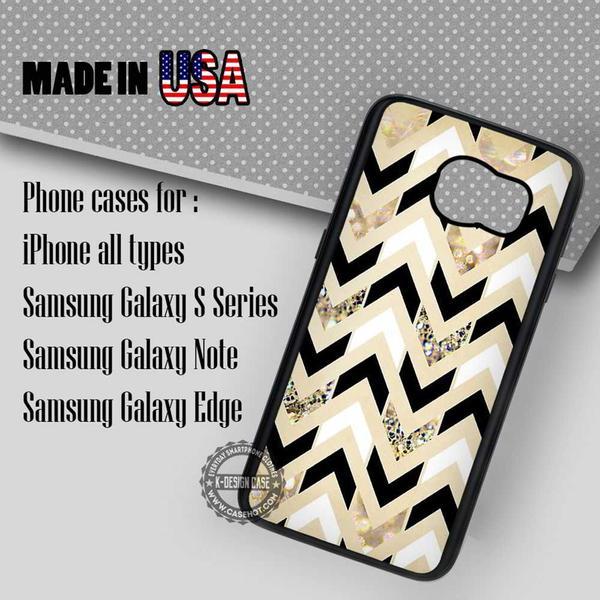 Samsung S7 Case - Chevron Gold Cream- iPhone Case #SamsungS7Case #art #yn