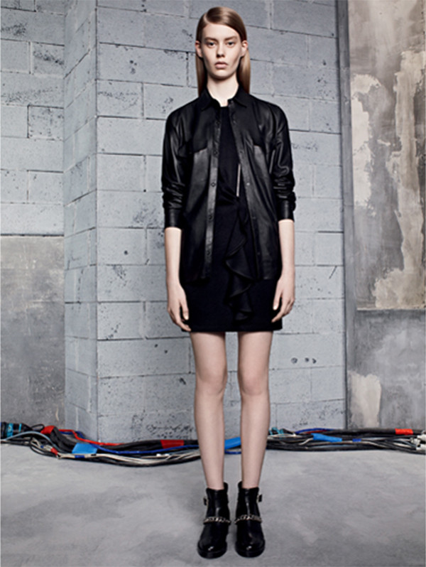 jacket sandro fashion lookbook dress shoes