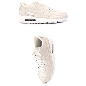 shoes white shoe beige nike nike air air max white shoes sporty sneakers