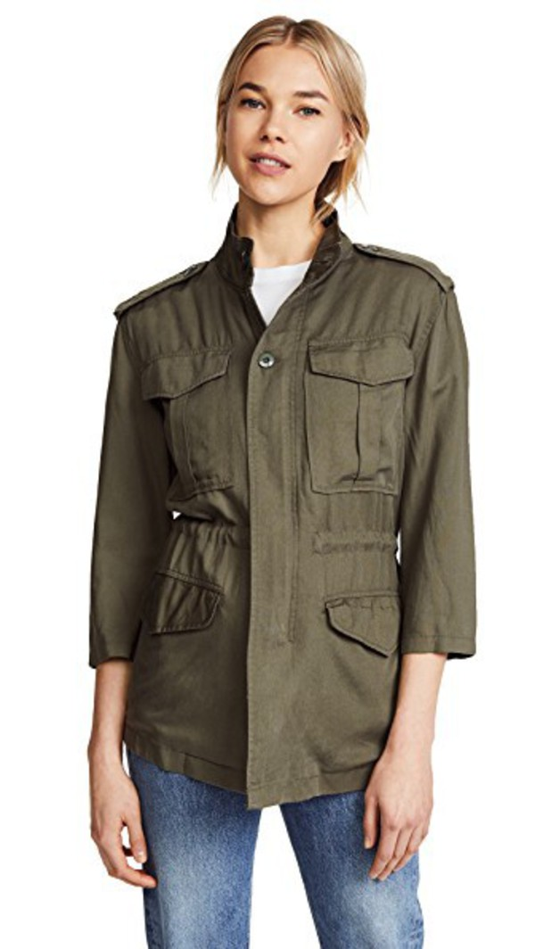 DL DL1961 Beekman Military Jacket in green