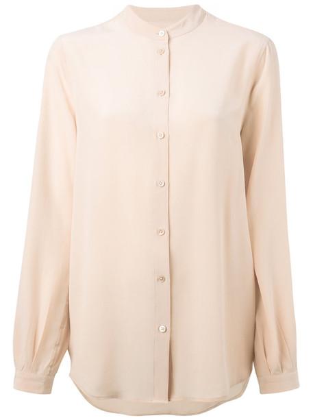 Equipment shirt women nude silk top