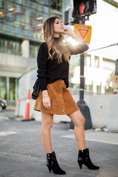 pam hetlinger,the girl from panama,blogger,sweater,skirt,shoes,jewels