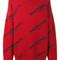Balenciaga - logo jumper - women - wool - 44, red, wool
