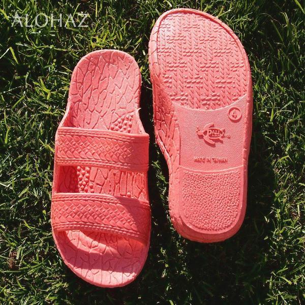 kids pink classic jandals® - pali hawaii sandals