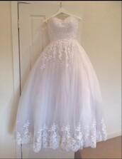 dress,debutante dress,deb dress,white dress,formal dress,formal,lace dress,prom need help finding itt