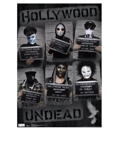 home accessory hollywood undead poster home decor