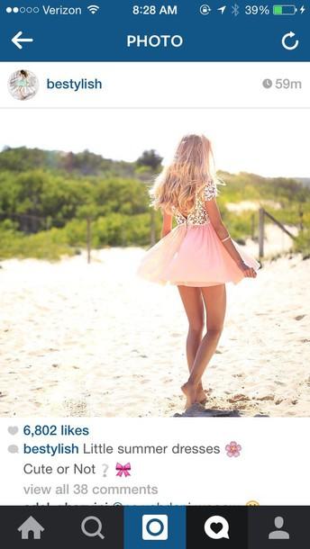 dress pink dress short dress cute cute dress lovely