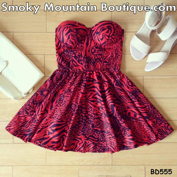 dress summer dress bustier dress