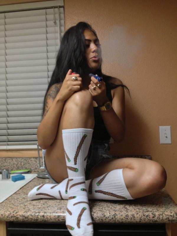 underwear socks blunt weed