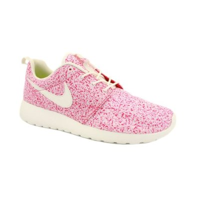 Nike Roshe Run 511882 101 Womens Laced Mesh Trainers Pink White 5: Amazon.co.uk: Shoes & Bags