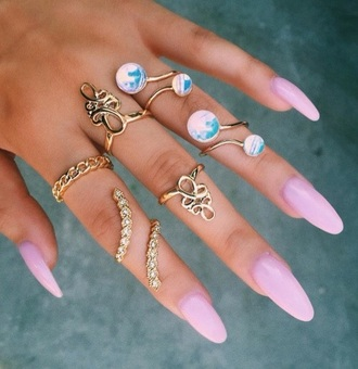 jewels jewelry knuckle ring ring rings and tings gold gold ring