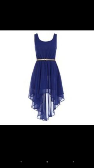 navy dress floaty dress