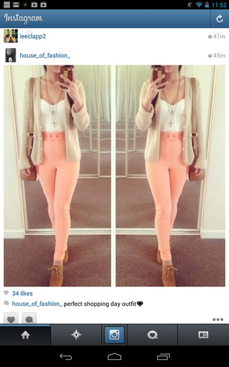 jeans peach high waisted jeans leggings disco pants