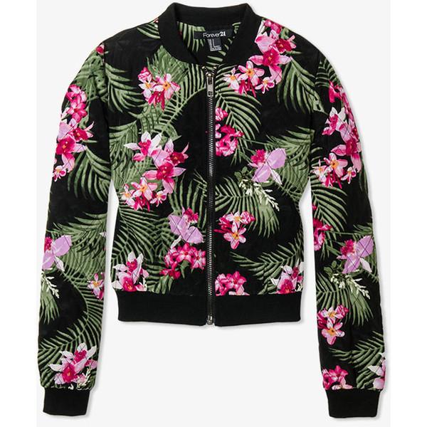 Tropical Print Jacket