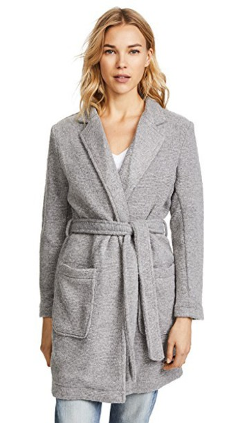 cupcakes and cashmere jacket grey heather grey