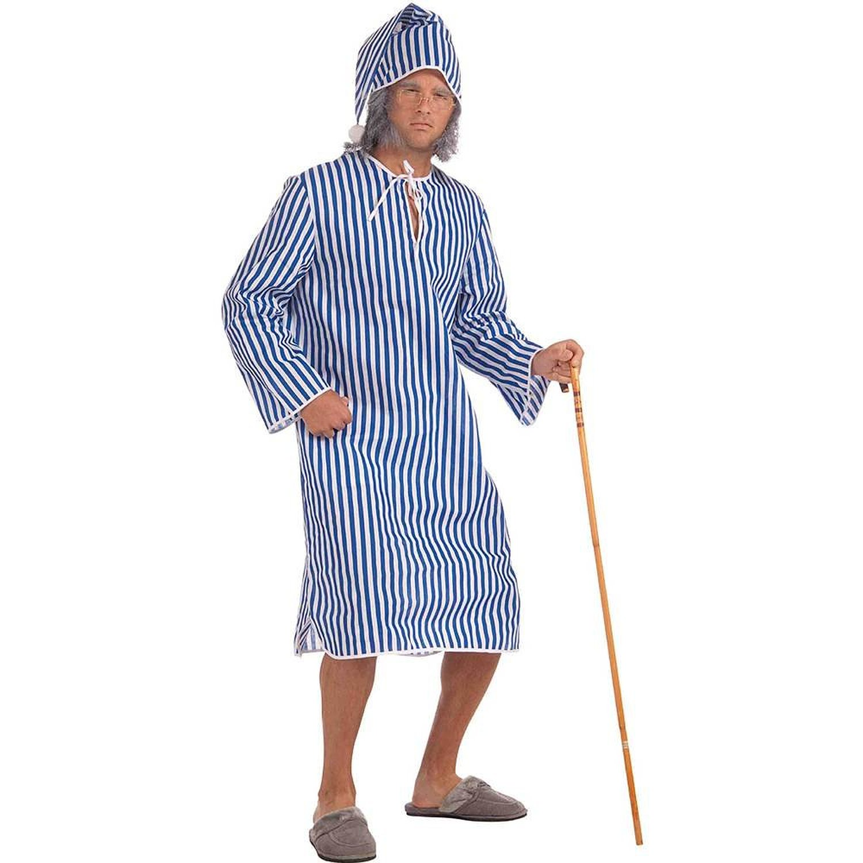 Amazon.com: scrooge night shirt adult costume: adult sized costumes: clothing